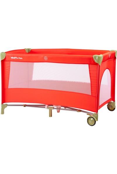 Kraft Plain Oyun Parkı 60 x 120 cm Red