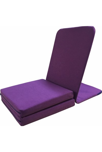 Zunkla Çift Minderli Meditasyon Sandalyesi Duck Kumaş