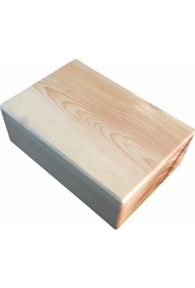 Zunkla 2'li Ahşap Yoga Blok - 2 Adet Ahşap Yoga Blok