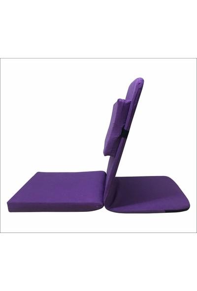 Zunkla Backjack Xl Meditasyon Sandalyesi - Ilave Destek Yastıklı - Ayarlanabilir Sırt ve Baş Desteği