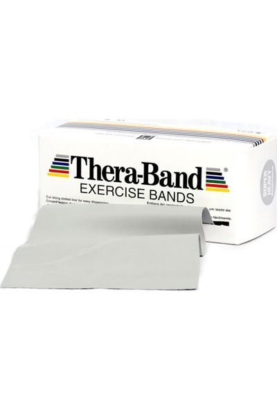 TheraBand Egzersiz / Pilates Bandı 5.5 Metre Gümüş