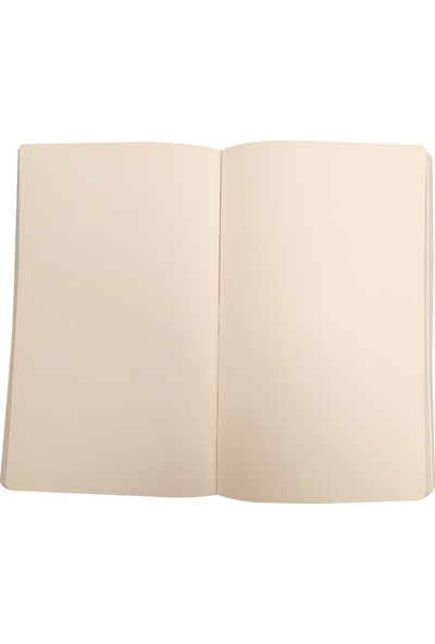 Ece Ajandası Gündoğan Çizgisiz Defter 13 x 18 cm Siyah