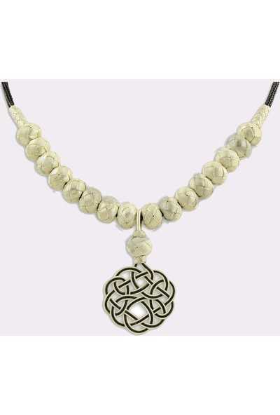 Midyat Nurtaş Gümüş 1000 Ayar Kazaziye Kadın Gümüş Kolye