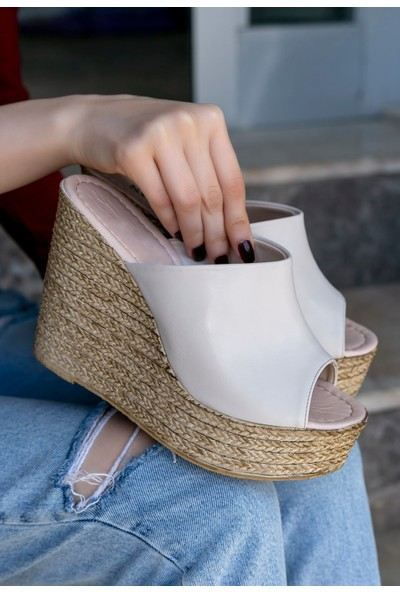 Pabucmarketi Kadın Comfort Sandalet ER292