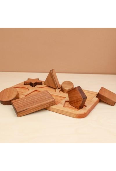 Oyuncakhouse Natural Geometrik Şekiller
