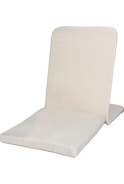 Zunkla Meditasyon Sandalyesi + Meditasyon Minderi + Yoga Bolster Minderi 3'lü Set Duck Kumaş