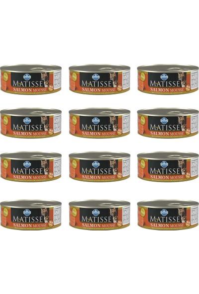 Matisse Mousse Somonlu Kedi Konservesi 85 gr 12'li