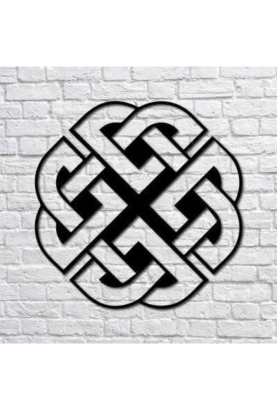 Bafidica Viking Sembolü Odin Kalkanı Metal Tablo