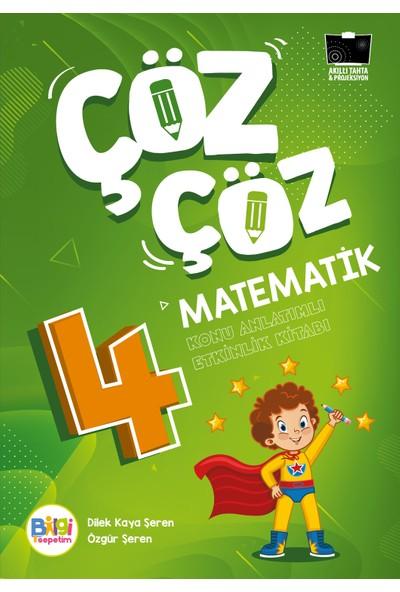 Çöz Çöz Matematik 4 Konu Anlatımlı Etkinlik Kitabı