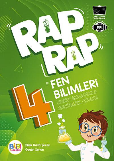 Rap Rap Fen Bilimleri 4 Konu Anlatımlı Etkinlik Kitabı