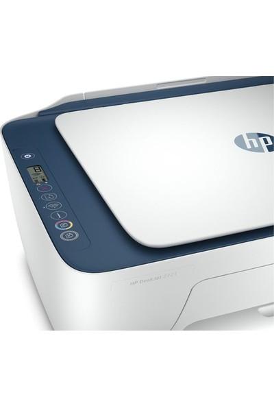 HP DeskJet 2721 Fotokopi + Tarayıcı + Wi-Fi + Airprint Yazıcı 7FR54B