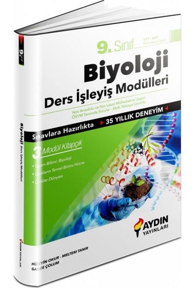 Aydın Yayınları 2021 9.Sınıf Biyoloji Ders Işleyiş Modülleri