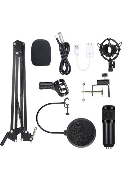 Buyfun BM800 Kondenser Mikrofon Yaktı Pro Audio Studio Kayıt (Yurt Dışından)