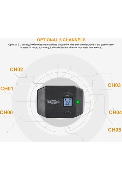 Comica CVM-WS50 (A) 6-Channel Uhf Kablosuz Smartphone (Yurt Dışından)