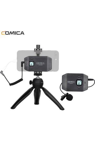 Comica CVM-WS50 (C) 6-Channel Uhf Kablosuz Smartphone (Yurt Dışından)