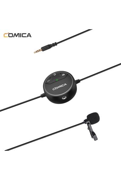 Comica Sıg. Lav V03 Çok Yönlü Yaka Mikrofonu 3.5 mm (Yurt Dışından)