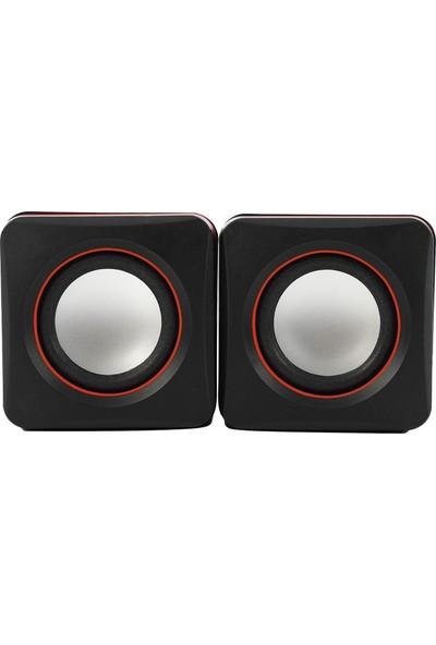 Mf Product Acoustic 0174 Kablolu Speaker Siyah