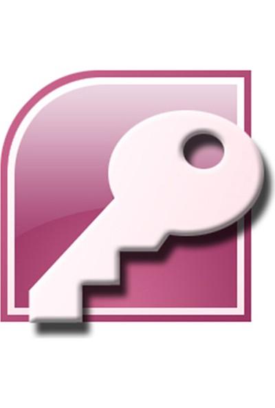 Microsoft Office Access Eğitimi (Uluslararası Geçerli Sertifikalı)
