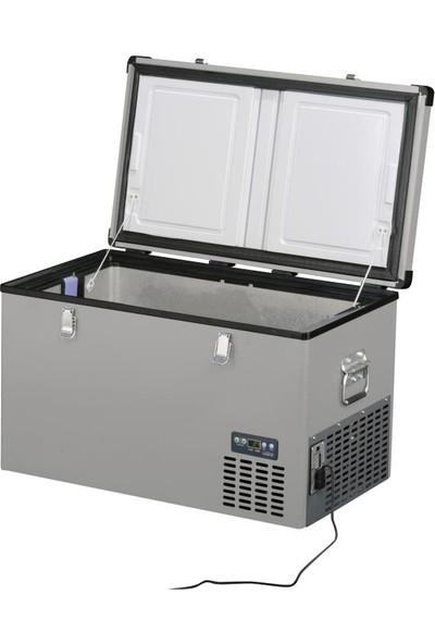 Indel-B TB74 Çelik Oto Buzdolabı Travel Box 71 lt