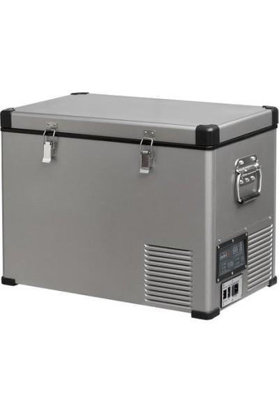 Indel-B Tb-46 Çelik Oto Buzdolabı Travel Box 45 lt