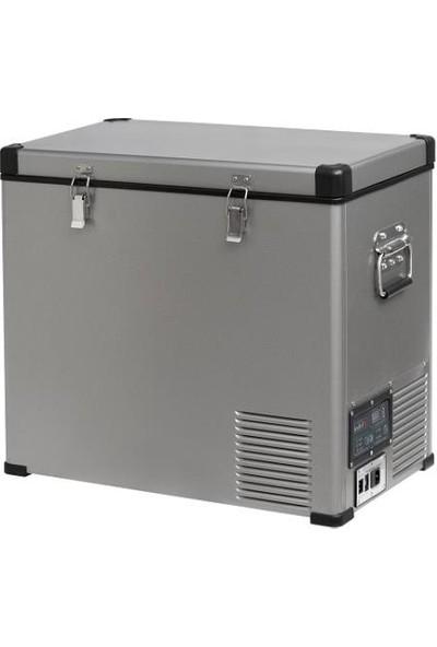 Indel-B TB60 Çelik Oto Buzdolabı Travel Box 60 lt