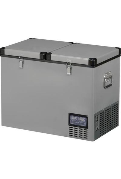 Indel-B TB92 Dd Çelik Oto Buzdolabı Travel Box 83 lt