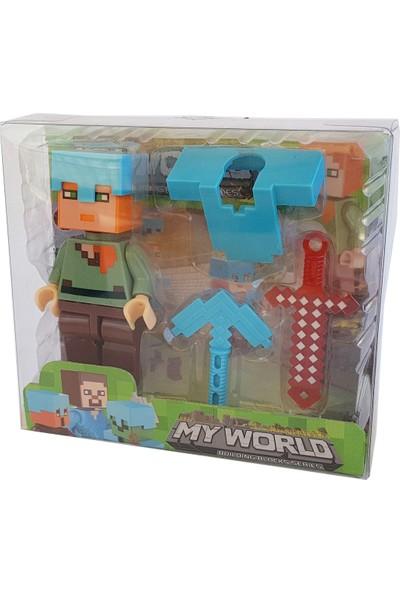 My World Minecraft Tekli Figür 129969