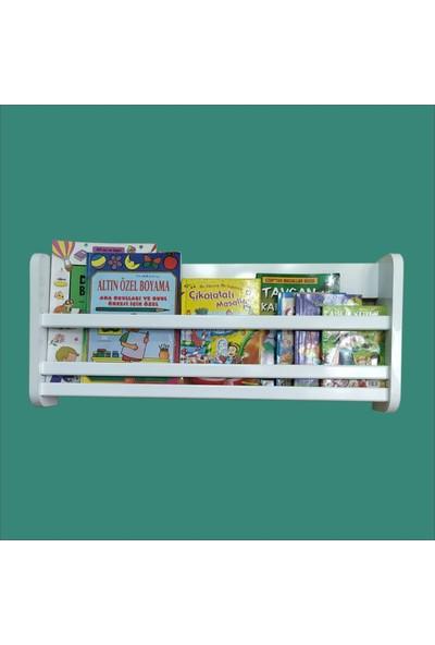 Emdief Home Tek Raflı Montessori Kitaplık Mdf Çocuk Odası Kitaplığı