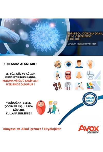 Farmisol Hipokloröz Antiviral Antibakteriyel Solüsyon 5 lt