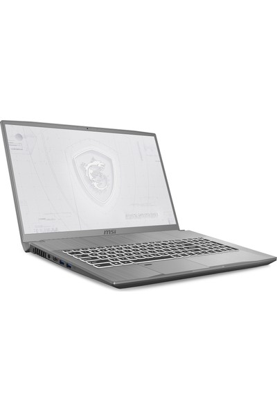 "MSI WF75 10TJ-405TR Intel Core i7 10750H 1TB + 512GB SSD Quadro T2000 Windows 10 Pro 17.3"" FHD Taşınabilir Bilgisayar"