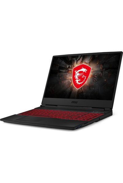 "MSI GL65 Leopard 10SDR-412XTR Intel Core i7 10750H 16GB 256GB SSD GTX1660Ti Freedos 15.6"" FHD Taşınabilir Bilgisayar"