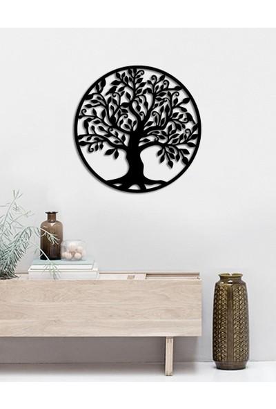 İnnova Metal Ağaç Metal Duvar Dekoru 50 x 50 cm