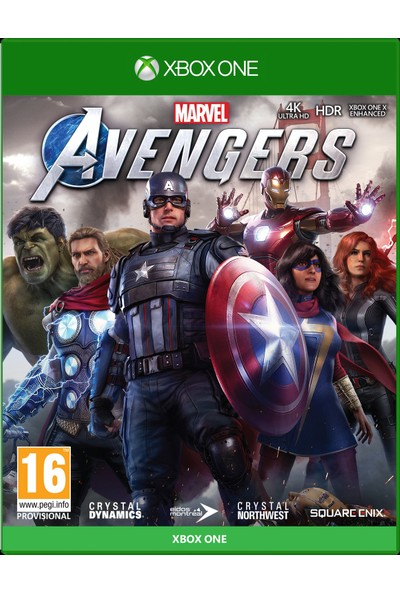Marvels Avengers Xbox One Oyun