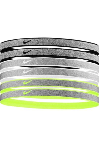 Nike N0003179-095 Heathered Saç Bandı 6 Lı Paket