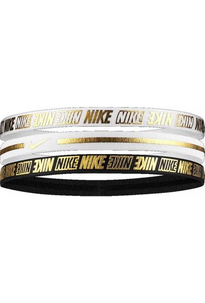 Nike N0002755-912 Metalik Elastik Saç Bandı 3 Lü Paket