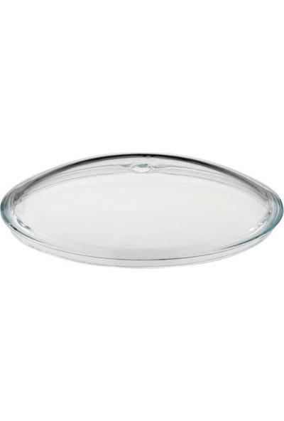 Karaca Granit-Çelik Tencere 22 cm Pyrex Cam Kapak