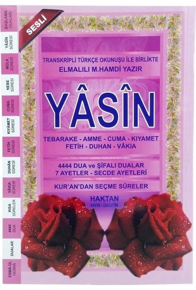 Haktan Yayınları 80 Sayfa Orta Boy Pembe Yasin Kitabı