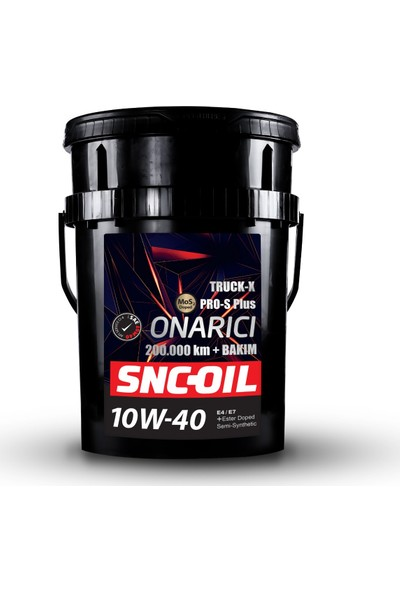 Snc Oil Pro-S Plus Onarıcı Truck-X 200.000 Km+ 10W-40 20 lt