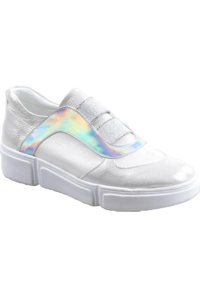 Aydındaş Beyaz Kız Çocuk Günlük Ayakkabı