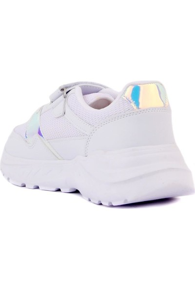 Cool 20-S11 Kız Çocuk Beyaz Günlük Spor Ayakkabı