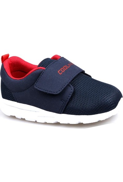 Cool 20-S22 Lacivert Erkek Çocuk Bebe Fileli Günlük Spor Ayakkabı