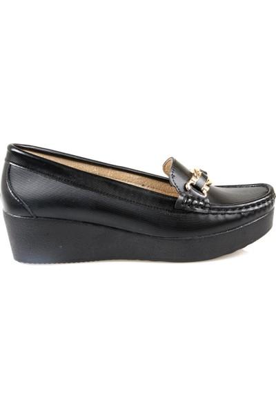 Oc Kadın Siyah Günlük Ayakkabı