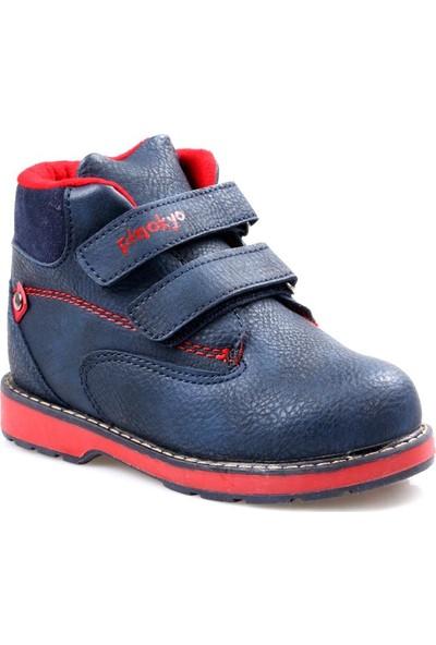 Pinokyo 11402 Lacivert Erkek Çocuk Bebe Bot