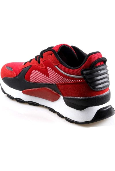 Ryt Dublin Memory Foam Taban Erkek Günlük Kırmızı Spor Ayakkabı