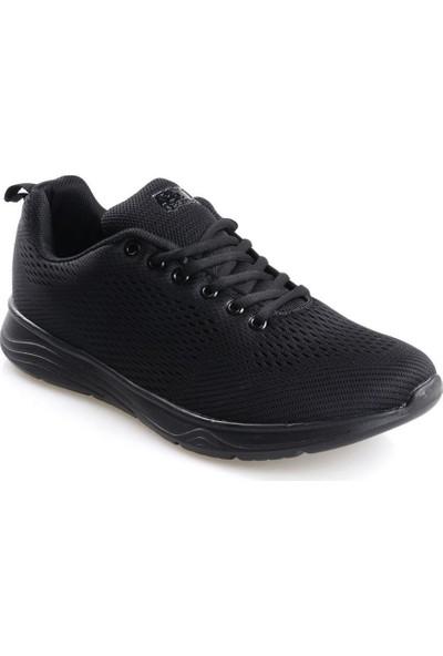 Ryt Paris Memory Foam Taban Siyah Erkek Günlük Spor Ayakkabı