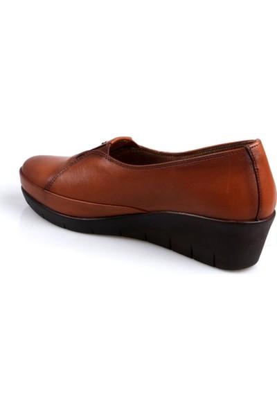 Scavia Comfort Taba Kadın Ayakkabı