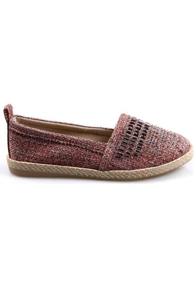 Talo Kadın Keten Babet Ayakkabı