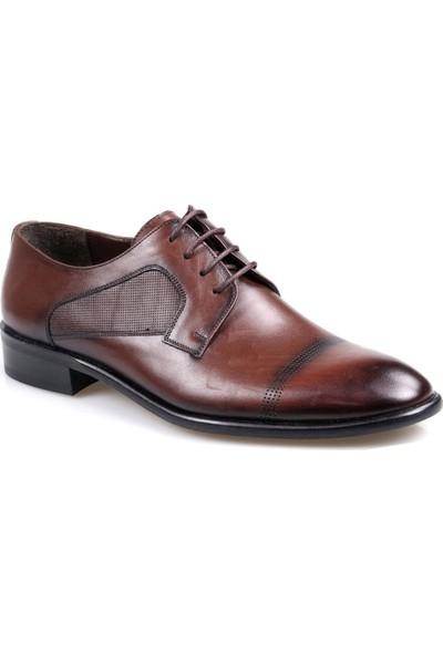 Talo Erkek Deri Kahve Klasik Jurdan Ayakkabı