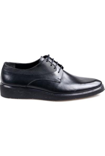 Talo Erkek Deri Siyah Günlük Oxford Ayakkabı
