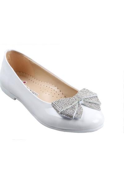 Vetta Girls Beyaz Kız Çocuk Babet Ayakkabı